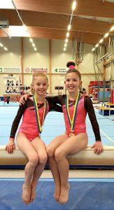 Gianna Cantz 1. Platz, Sinja Aurich 6. RLZ Ostschweiz