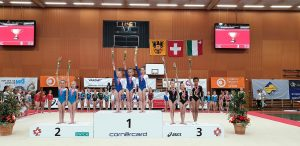Gold in Mannschaftswertung SMJ 2019 P2 Fiona Müller Gianna Cantz Mathilda Pohl