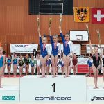 Podest Schweizermeisterschaften KUTU F 2019 Mannschaft P2