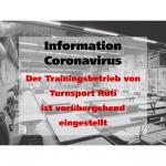 Info Turnsport Rüti - Coronavirus