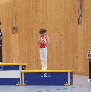 Samuel mit Bronzemedaille